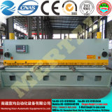 Máquina que pela hidráulica automática QC11y-6*4000 de la hoja de metal del CNC