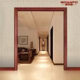 Diseño decorativo de madera del moldeado del encofrado de la ventana de la canillera de puerta (GSP17-005)