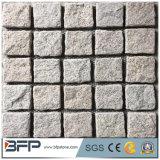 Pierre normale de galet de granit de fractionnement de pierre du cube G603