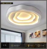 Venda por atacado interna moderna acrílica da fábrica de 2017 lâmpadas da iluminação da luz de teto do diodo emissor de luz da forma moderna