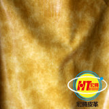 Cuoio artificiale normale di Microfiber per mobilia domestica (1606#)