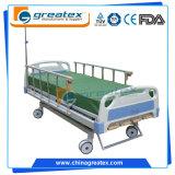 セリウムISOのFDA 3は医学の4つのクランクの手動病院用ベッド作用する