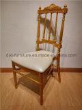 Königlicher Art-Leder-Lagerungs-Goldgroßverkauf verwendete Hotel-Bankett-Stühle