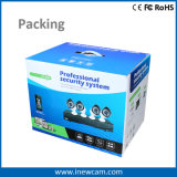 1080P 4CH FernÜberwachungskamera-System des bewegungs-Befund-videokonferenzschaltung-Systems-IP