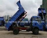Tipper novo do caminhão de descarga 4X2 de Cdw do farelo para a venda