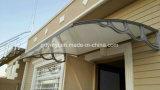 Aluminiumlegierung-Halter-Polycarbonat-Plastiktür-Kabinendach-im Freienzelt-Markise