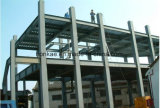 El almacén del taller vertió el edificio de la estructura de acero