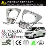 Selbstauto-Nebel-Licht-Chrom-Überzug-Deckel für Aqua Alphard Toyota-Vellfire
