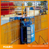 タンク構築の溶接機