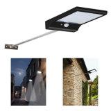 2インストール36 LED太陽エネルギーのバルコニー、塀のための屋外の動きセンサーライト機密保護の壁の台紙ライト