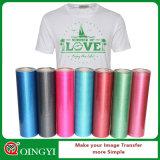 Qingyi Factory Qualité et prix du film de transfert de chaleur Glitter pour T-Shirt