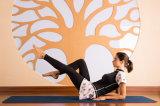 カスタマイズされた女子体操通気性のスポーツ・ウェアを実行する2部分の圧縮