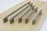 Тяга ручки ящика шкафов никеля сатинировки щетки для живущий комнаты