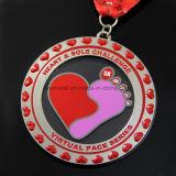 特別なカスタム金属のアクリルのLucencyのマラソンメダル