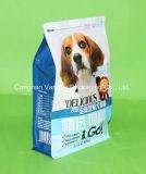 Flat-Bottom мешок застежки -молнии собачьей еды