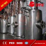 Gebildet Edelstahl-Bierbrauen-Gerät China-500L im industriellen elektrischen