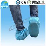 Nicht-Giftigkeit nichtgewebter Schuh-Wegwerfdeckel für medizinischen, täglichen und chirurgischen Gebrauch