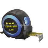 Профессиональная рулетка с кромом Rubberized пальто/измеряя лента