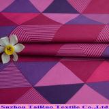 Tela poli impermeável de Taslon para a matéria têxtil dos vestuários com impressão