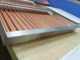 Плитки потолка Perforated декоративного алюминия Corrugated