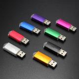 로고 인쇄를 가진 도매 선전용 선물 금속 USB 섬광 드라이브