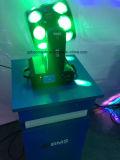Luz del efecto de la luz doble principal móvil del vuelo de la iluminación LED de la etapa nueva para el disco, KTV, barra, club nocturno