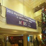 展示会の経済的な昇進の印ファブリック旗