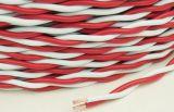 Geïsoleerdo pvc van de Kern van het Koper van Rvs 300/300V verdraaide Flexibele Elektrische Draad