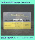 Cartão desobstruído com a listra magnética para a alameda de compra