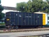 Os vagões superiores para o carvão
