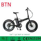 [20ينش] كهربائيّة يطوي ثلج درّاجة مع إطار العجلة سمين