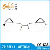 Стекел Eyeglass Eyewear высокого качества рамка Semi-Rimless Titanium оптически (8402)