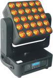 luz principal móvil de la etapa de la matriz de 25X10W RGBW 4in1