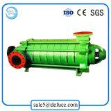 De Meertrappige Pomp van de elektrische Motor voor de Watervoorziening en de Drainage van de Stad