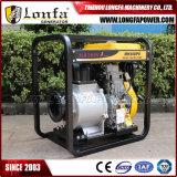 полив электрического старта двигателя 192f 15HP аграрный водяная помпа 6 дюймов тепловозная
