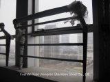 Stahlpfosten-Glastreppenhaus-Edelstahl-Geländer-System für Baumaterial