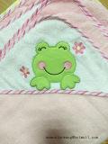 高品質の赤ん坊のフード付きタオル