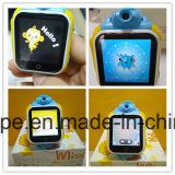Relógio esperto do GPS para do miúdo o relógio &Elderly SOS GPS com tela de toque