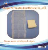 Tampone medico 4X4 non sterile della garza