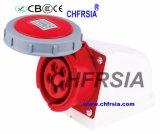 soquete 5p para a montagem de superfície da potência industrial impermeável com Ce