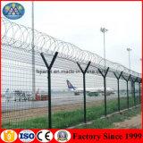 Professioneller industrieller elektrischer Ineinander greifen-Flughafen-Sicherheitszaun