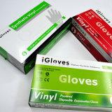 Haushalts-Wegwerfplastikhandschuh-Vinyl-Belüftung-Handschuhe, Haus-Reinigungs-Vinylhandschuhe