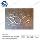 Métiers/arts de mur en métal de fleur coupée de laser pour le décor
