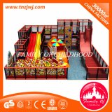 Luxo de crianças Maze Amusement Soft Equipment Indoor Playground com Ball Pool