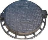 Couverture de trou d'homme malléable de fer de moulage de vente chaude