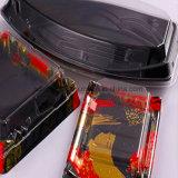 Wegwerfsushi-Verpackungs-Kasten-hochwertiger Drucken-Sushitakeaway-Kasten