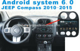 Automobile Android GPS del sistema 6.0 per Compass2010-2015 con il lettore DVD dell'automobile