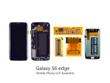 Samsung S6の端のための元の携帯電話のタッチ画面の表示LCD