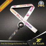 Presente relativo à promoção venda por atacado impressa de China dos colhedores da impressão de Custom&Polyester do colhedor da garganta (XF-LY05)