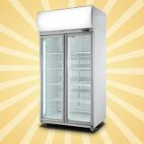 Aufrechte Supermarkt-Getränkekühlvorrichtung mit Digital-Controller
